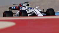 Felipe Massa při tréninku v Bahrajnu