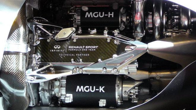 Vnitřní uspořádání pohonné jednotky