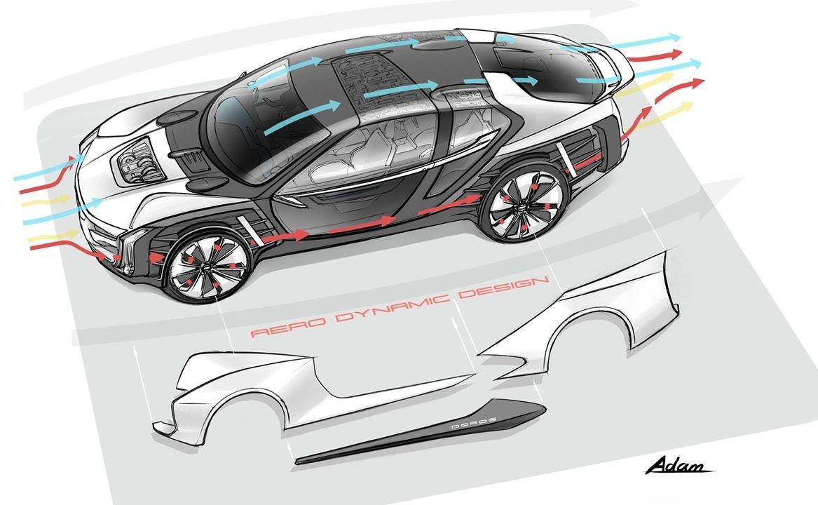 Na přípravě konceptu Qoros K-EV se podílel Koenigsegg a výsledkem je neobyčejně atraktivní luxusní limuzína