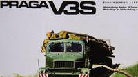 Praga V3S na vývozním plakátu
