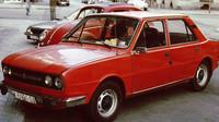Škoda 120 LS 1. série. Na některých linkách je znát inspirace z konceptů navrhovaných italským designérem Giugiarem (autor: Charles01)