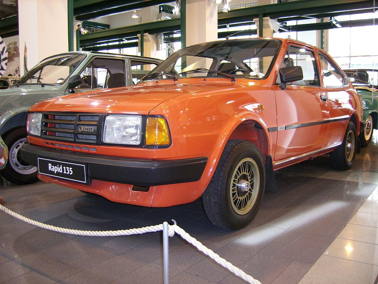 Škoda Rapid měla navázat na úspěchy modelu 110R kupé