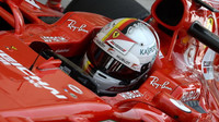Sebastian Vettel s Ferrari v Bahrajnu