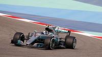 Valtteri Bottas při sezónních testech v Bahrajnu