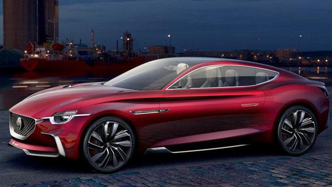 Koncept MG E-motion předznamenává návrat britské automobilky k výrobě sportovních vozů