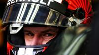 Nico Hülkenberg při sezónních testech v Bahrajnu