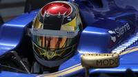 Pascal Wehrlein při sezónních testech v Bahrajnu