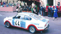 Škoda 130 RS na dobové fotce ze závodů rally