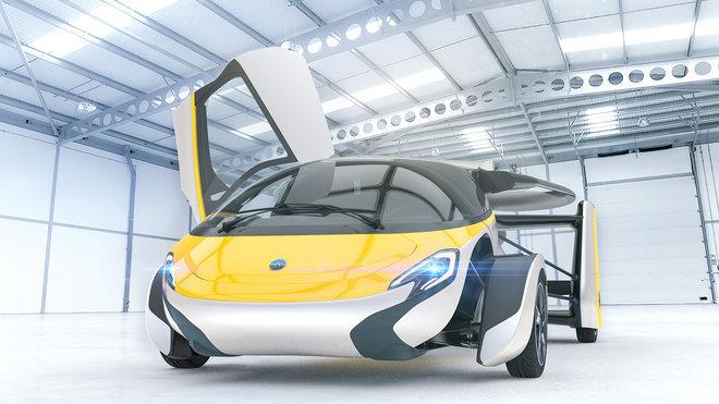 AeroMobil, stroj schopný jízdy po silnicích i létání