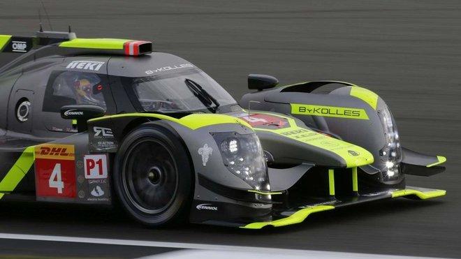 Prototyp LMP1 soukromého týmu ByKolles racing s posádkou Olever Webb, James Rossiter, Dominik Kraihamer