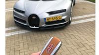 První Bugatti Chiron v Holandsku