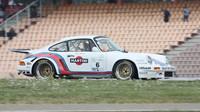Bývalý mistr Evropy závodů do vrchu Mario Ketterer na Porsche 911.