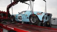 Takhle skončil Ford GT40 z roku 1964.