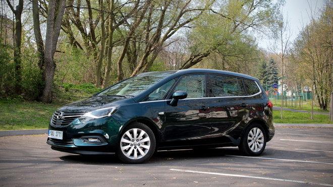 Test Opel Zafira 20 Cdti Ecoflex Prostor Komfort A Bezpe