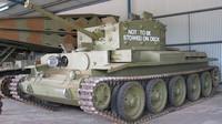 Tank Cromwell v australském tankovém muzeu. Jde o jediný Cromwell zaslaný do Austrálie. (foto:Bukoved)