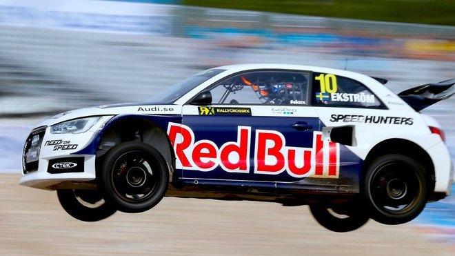 Audi S1 určená pro závody v rallycrossu