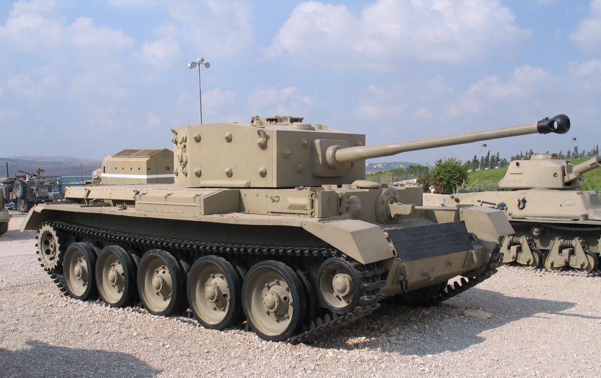 Tanky Cromwell se účastnily i Arabsko-izraelské války (foto:Bukvoed)