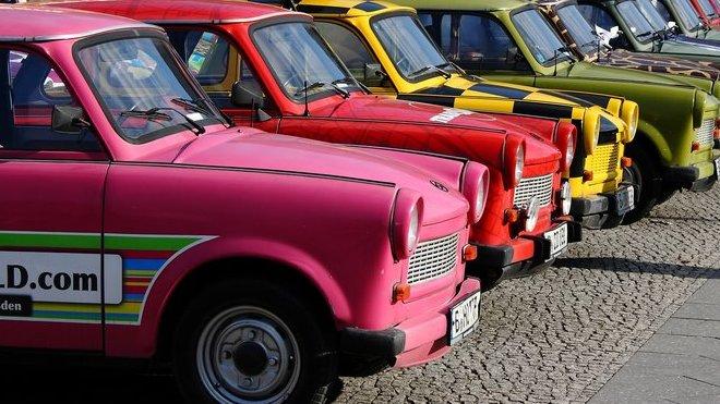 Srazy majitelů Trabantů jsou poslední dobou velice populární