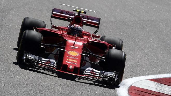 Kimi Räikkönen v Soči