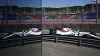 Felipe Massa při pátečním tréninku v Soči
