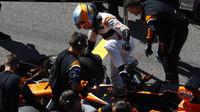 Fernando Alonso před závodem v Soči
