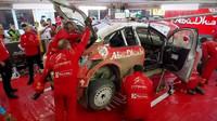 Tým Citroënu dokázal za tři hodiny opravdu divy