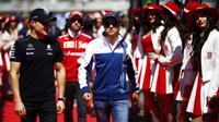Valtteri Bottas a Felipe Massa před závodem v Soči