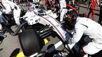 Felipe Massa před závodem v Soči