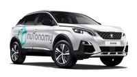 Peugeot 3008 s logem společnosti nuTonomy, která na něm bude zkoušet autonomní systémy pro PSA