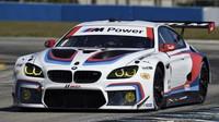Aktuální podoba vozu BMW M6 GTLM, se kterým se německá automobilka prezentuje v závodech IMSA