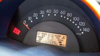 Přístrojový štít vozu Smart