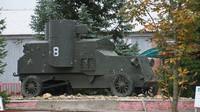 Obrněný vůz Austin (foto: Uwe Brodrecht)