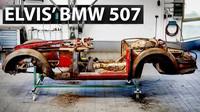 Elvisovo BMW 507 potřebovalo před návratem na silnice pořádný servis