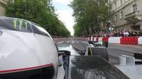 Bottas 250km/h rychlostí v Budapešti