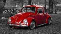 VW zaplatil Tatře za Brouka pokutu. Vyplatila se, z lidového auta vznikla legenda - anotační foto