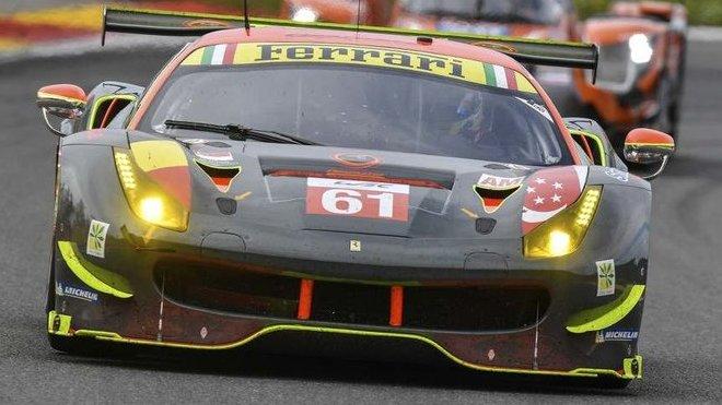 Ferrari 488 GTE soukromého týmu Clearwater Racing