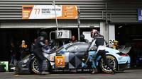 Porsche 911RSR soukromého týmu Dempsey-Proton Racing s posádkou Christian Ried, Marvin Diest, Matteo Cairoli