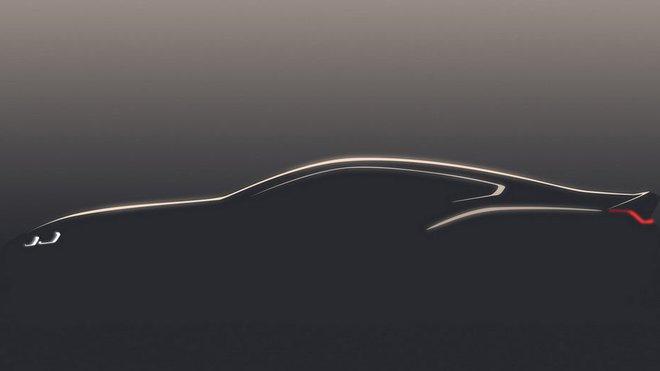 BMW řady 8 Na prvním snímku uvolněném přímo automobilkou