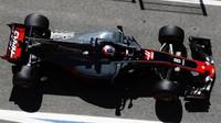 Romain Grosjean při tréninku v Barceloně