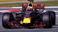 V Barceloně Red Bull ještě T-wing neměl, čekal s ním na Monako