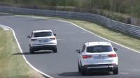 Škoda Karoq a Seat Ateca na Nürburgringu