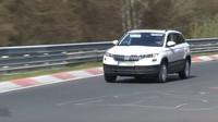 Škoda Karoq na Nürburgringu
