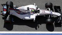 Felipe Massa v tréninku v Barceloně