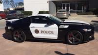 Policejní Ford Mustang v úpravě Saleen 302