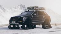 Bentley Bentayga v zimní úpravě
