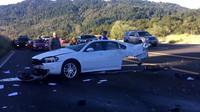 Poničená Chevy Impala