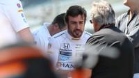 Fernando Alonso v rozhovoru s Mariem Andrettim