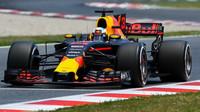 Daniel Ricciardo ve Velké ceně Španělska ztratil na vítěze 75 sekund