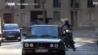BMW řady 5 během natáčení šestého dílu Mission: Impossible