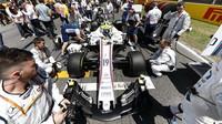 Felipe Massa se do dění v Barceloně zapsal hned třikrát